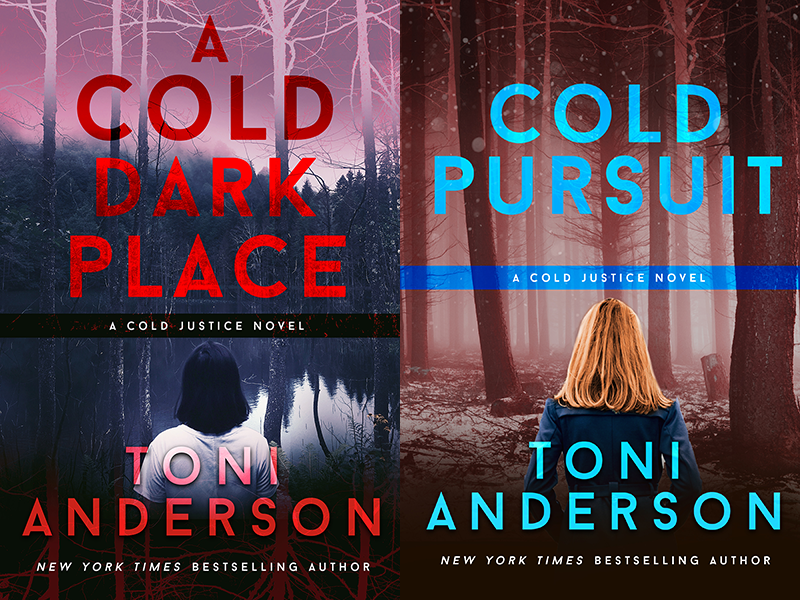 Cover Reveal: Toni Anderson's COLD JUSTICE series    #books