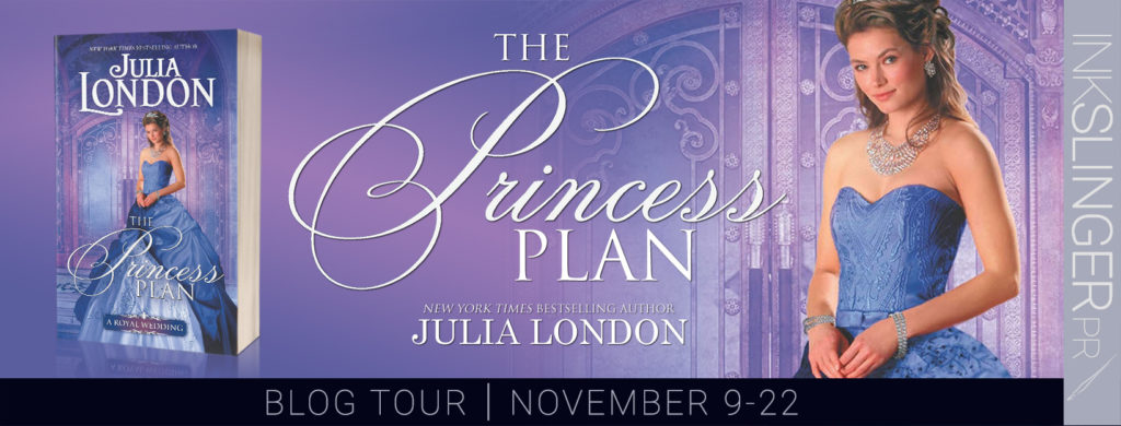 Blog Tour & Giveaway: The Princess Plan by Julia London