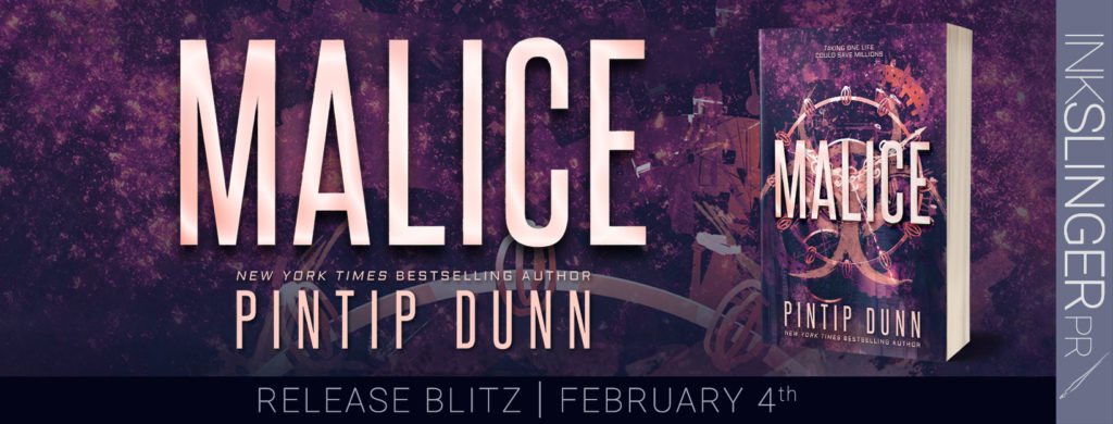 Release Blitz ~ Malice by Pintip Dunn