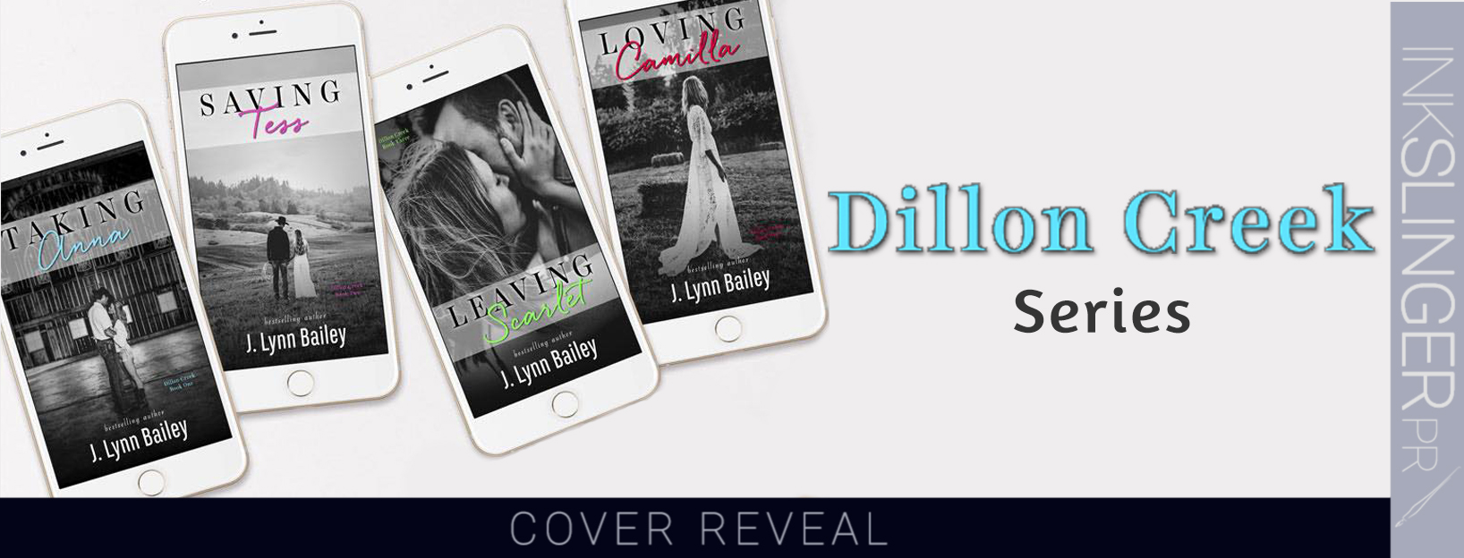 SERIES COVER REVEAL ~ Dillon Creek series by J.Lynn Bailey