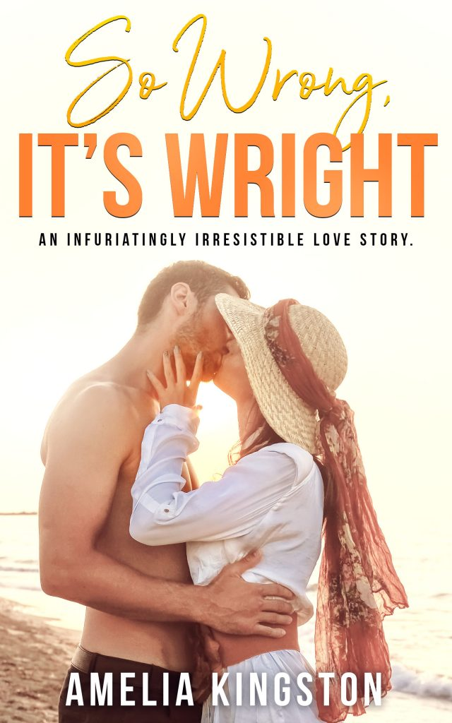 Cover Reveal:  So Wrong It's Wright by Amelia Kingston