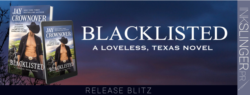 Release Blitz ~ BLACKLISTED by Jay Crownover