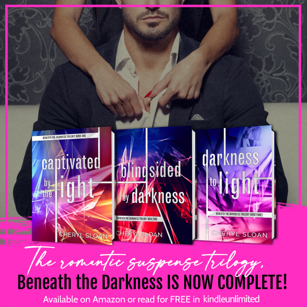 BookBrushImage 2020 8 24 19 107 Darkness to Light by Cheryl Sloan: Complete Trilogy Now Available