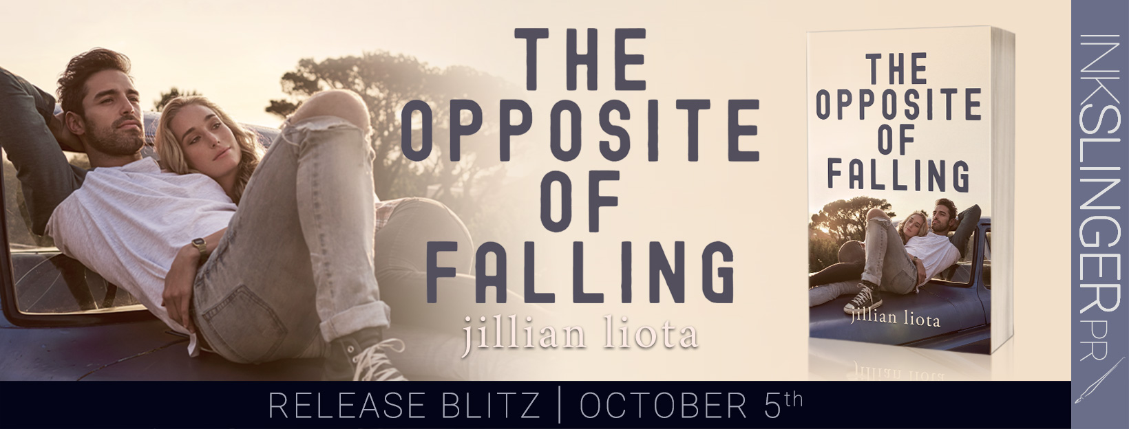 Check out The Opposite of Falling by Jillian Liota (A Sweet Romantic Read)