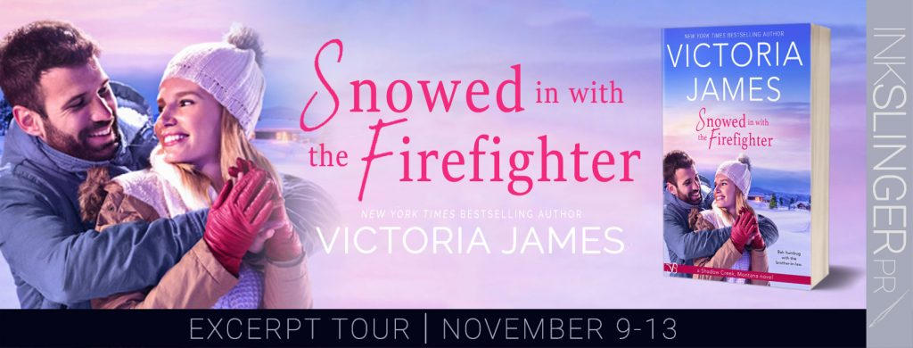 Release Day Blitz: Snowed in with the Firefighter by Victoria James