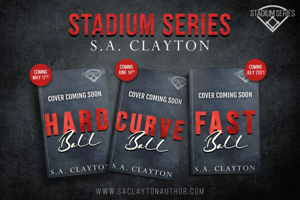 Cover Reveal:  Hard Ball (Stadium Series #1) by S.A. Clayton