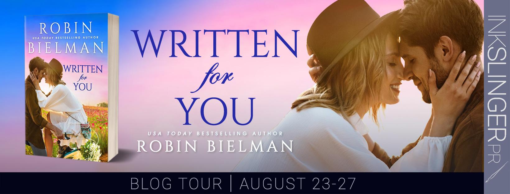 Blog Tour: Written for You by Robin Bielman